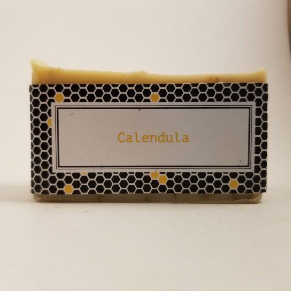 Bar of Calendula Beeswax Soap
