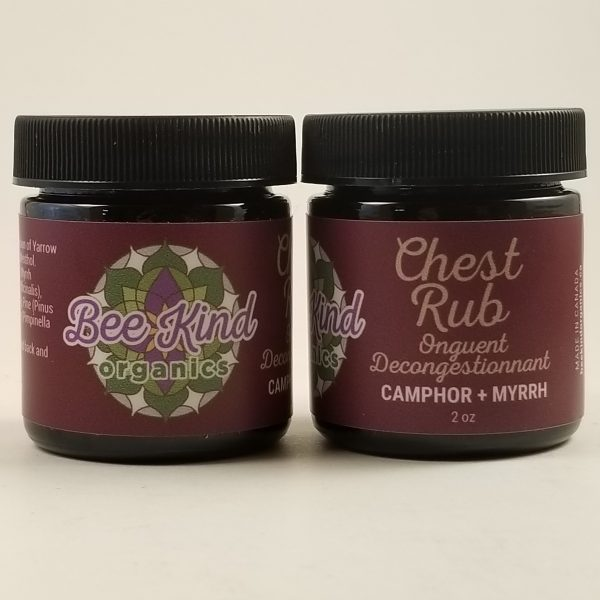 Beeswax Chest Rub