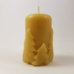 Fir Votive Organic Beeswax Candle