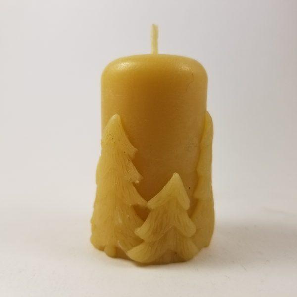 Fir Votive Organic Beeswax Candle