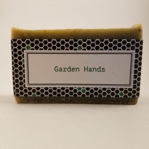 Garden Hands Beeswax Soap