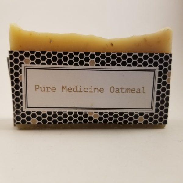 Medicine Oatmeal Beeswax Soap