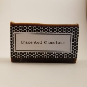 Unscented Chocolate Beeswax Soap